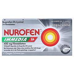 Nurofen Immedia 400 mg 24 Stück - Vorderseite