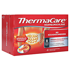 Thermacare Wärmeumschläge bei Rückenschmerzen 4 Stück