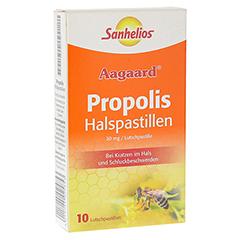 SANHELIOS Propolis Halspastillen 10 Stück