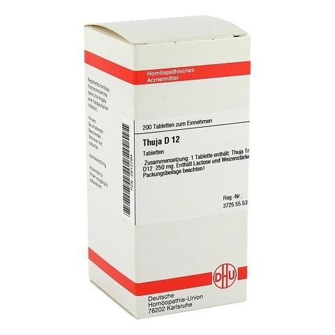 THUJA D 12 Tabletten 200 Stück N2