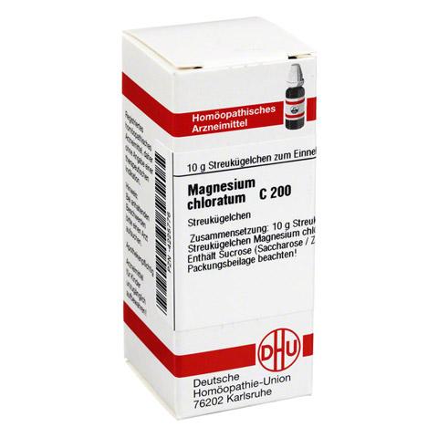 MAGNESIUM CHLORATUM C 200 Globuli 10 Gramm N1