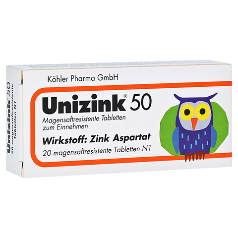 Unizink 50 20 Stück N1