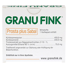 GRANU FINK Prosta plus Sabal 60 Stück - Rückseite
