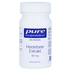 PURE ENCAPSULATIONS Heidelbeer Extrakt 80 mg Kaps. 60 Stück