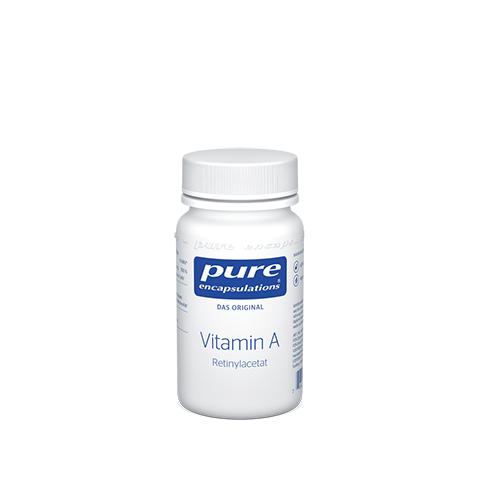 PURE ENCAPSULATIONS Vitamin A Retinylacetat Kaps. 60 Stück