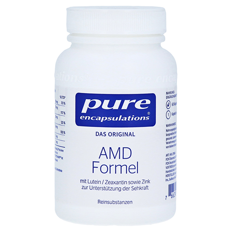 PURE ENCAPSULATIONS AMD Formel Kapseln 60 Stück