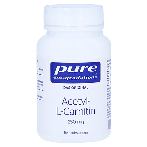 PURE ENCAPSULATIONS Acetyl L Carnitin 250mg Kaps. 60 Stück