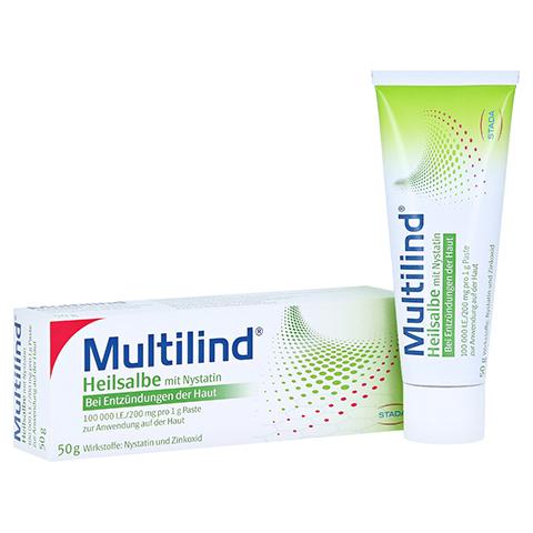 Multilind Heilsalbe mit Nystatin 50 Gramm N2