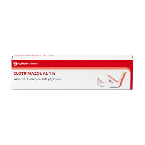 Clotrimazol AL 1% 50 Gramm N2