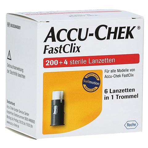 ACCU-CHEK Fastclix 204 Stück
