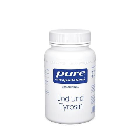 PURE ENCAPSULATIONS Jod und Tyrosin Kapseln 60 Stück