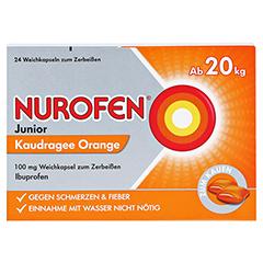 Nurofen Junior Kaudragee Orange 24 Stück - Vorderseite