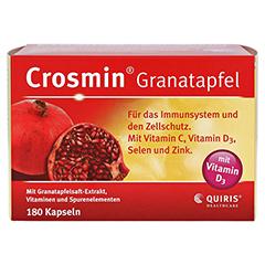 CROSMIN Granatapfel Kapseln 180 Stück - Vorderseite
