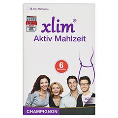 XLIM Aktiv Mahlzeit Champignon Pulver 6 Stück - Vorderseite