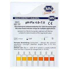 PH-FIX Indikatorstäbchen pH 4,0-7,0 100 Stück - Vorderseite