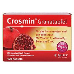 CROSMIN Granatapfel Kapseln 120 Stück - Vorderseite