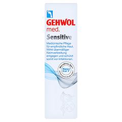 GEHWOL MED sensitive Creme 75 Milliliter - Vorderseite