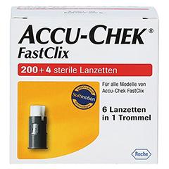ACCU-CHEK Fastclix 204 Stück - Vorderseite