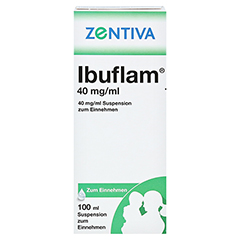 Ibuflam 40mg/ml 100 Milliliter N1 - Vorderseite