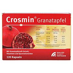 CROSMIN Granatapfel Kapseln 120 Stück - Rückseite