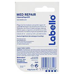LABELLO med repair Blister 4.8 Gramm - Rückseite