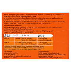 Nurofen Junior Kaudragee Orange 24 Stück - Rückseite