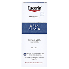 EUCERIN UreaRepair Gesichtscreme 5% 50 Milliliter - Rückseite