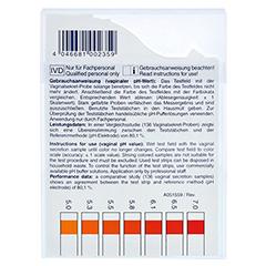 PH-FIX Indikatorstäbchen pH 4,0-7,0 100 Stück - Rückseite