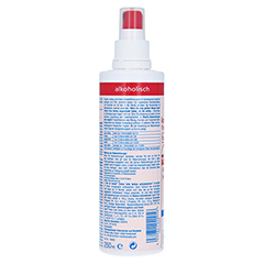 KODAN Tinktur forte farblos Pumpspray 250 Milliliter - Rückseite