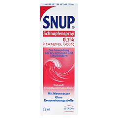 Snup Schnupfenspray 0,1% 15 Milliliter N2 - Rückseite
