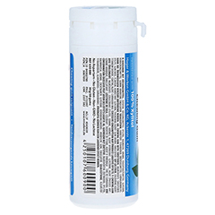 MIRADENT Zahnpflegekaugummi Xylitol Pfefferminz 30 Stück - Rückseite