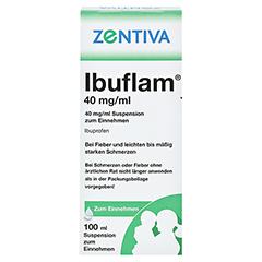 Ibuflam 40mg/ml 100 Milliliter N1 - Rückseite