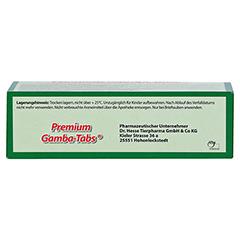 PREMIUM GAMBA-TABS f.Brieftauben 30 Stück - Oberseite