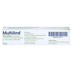 Multilind Heilsalbe mit Nystatin 50 Gramm N2 - Unterseite
