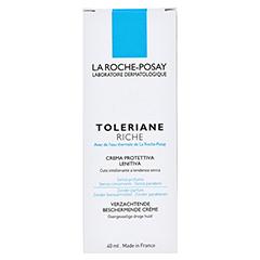 ROCHE POSAY Toleriane reichhaltige Pflege + gratis La Roche Posay Allergie-Hautpflege-Set 40 Milliliter - Rückseite
