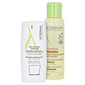 A-DERMA DERMALIBOUR+ Wundpflege-Stick + gratis EXOMEGA Control Duschöl 100 ml 8 Gramm