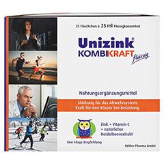 Unizink Kombikraft 25x25 Milliliter - Linke Seite