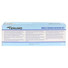 SURFLO Perfusionsbesteck 22 G 30 cm schwarz 50 St�ck - R�ckseite