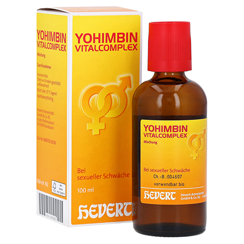 YOHIMBIN Vitalcomplex Hevert Tropfen 100 Milliliter N2