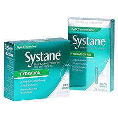 SYSTANE Hydration Benetzungstropfen für die Augen + gratis Systane Hydration UD 5 X 0,7 ml 3x10 Milliliter