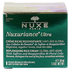 NUXE Nuxuriance Ultra reichhaltige Creme + gratis NUXE Nuxuriance Ultra Nachtcreme (15ml) 50 Milliliter - Rückseite