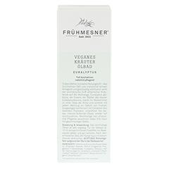 FRÜHMESNER veganes Kräuter Ölbad Eukalyptus 100 Milliliter - Rückseite