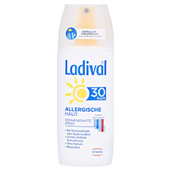 LADIVAL allergische Haut Spray LSF 30 150 Milliliter
