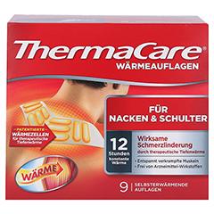 THERMACARE Nacken/Schulter Auflagen z.Schmerzlind. 9 Stück - Vorderseite