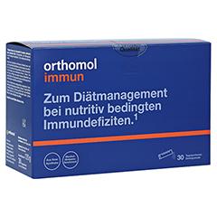 ORTHOMOL Immun Direktgranulat Himbeer/Menthol 7 Stück