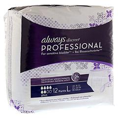 ALWAYS discreet professional Pants plus large 12 Stück