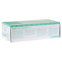 VASCO Vinyl powdered Handschuhe unsteril Gr.M 100 Stück