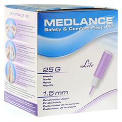 MEDLANCE plus Lite Sicherheitslanzetten 25 G 200 Stück