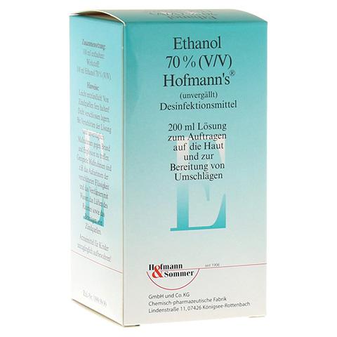 ETHANOL 70% V/V Hofmann's 200 Milliliter