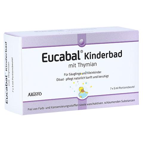 EUCABAL Kinderbad mit Thymian 7x5 Milliliter